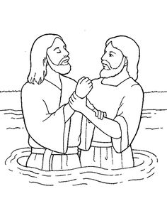236x314 John The Baptist Coloring Page Vacation Bible School Sunday