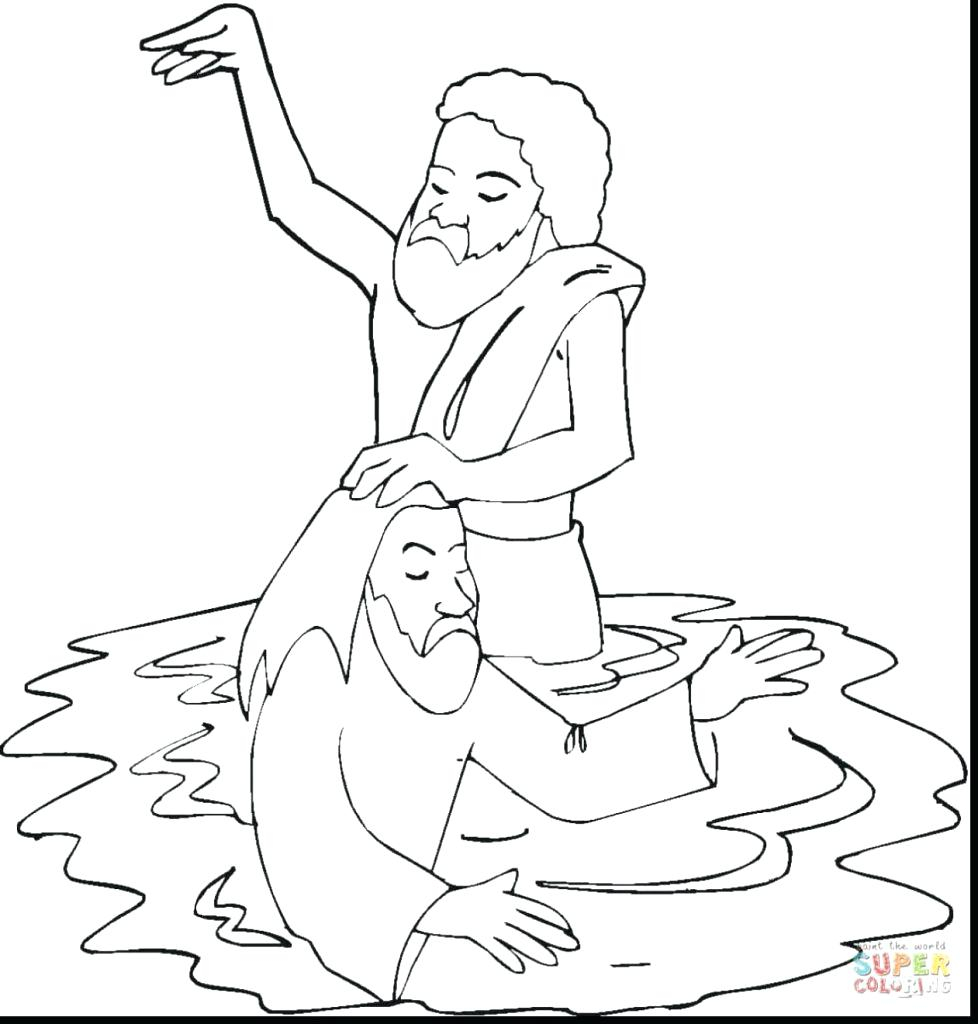 The Best Free Baptism Coloring Page Images Download From 124 Free