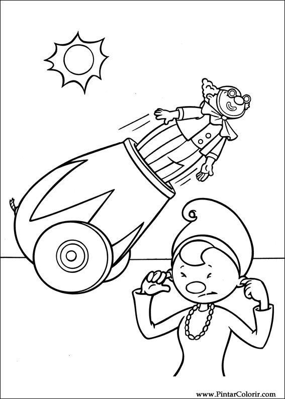567x794 Drawings To Paint Colour Jojo Circus