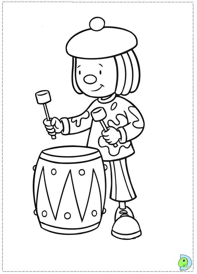 691x960 Jojo's Circus Coloring Page