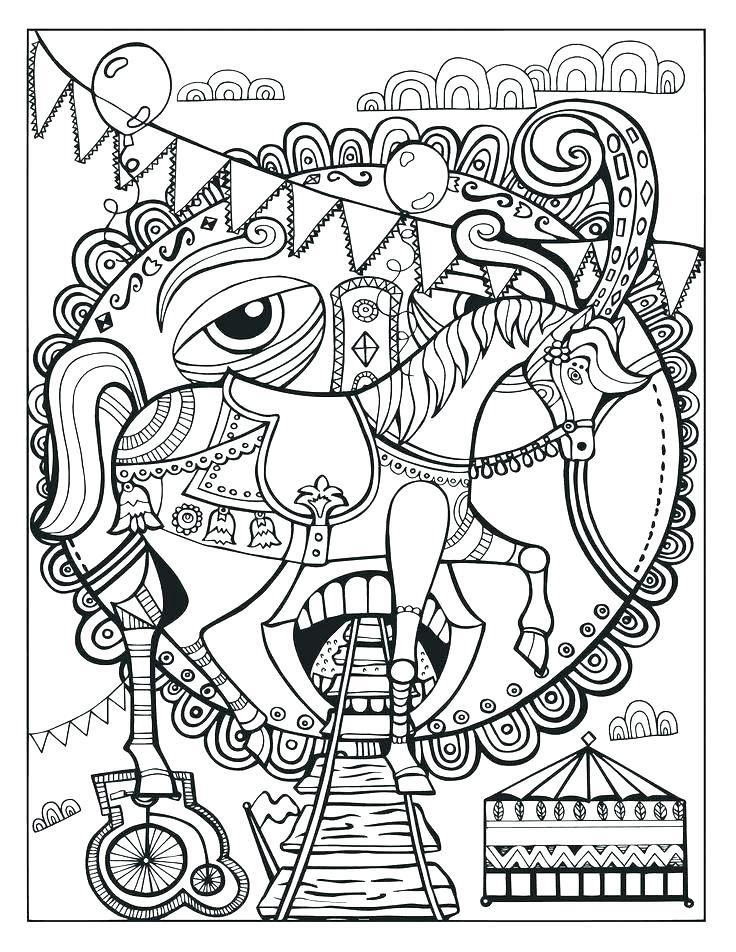 736x952 Jojo Circus Coloring Printable Pages Printable Coloring Circus