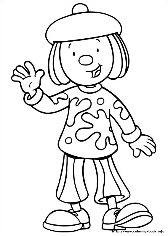 567x794 Jojo Circus Coloring Pages On Coloring