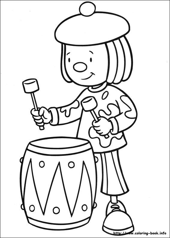 567x794 Jojo Circus Coloring Picture