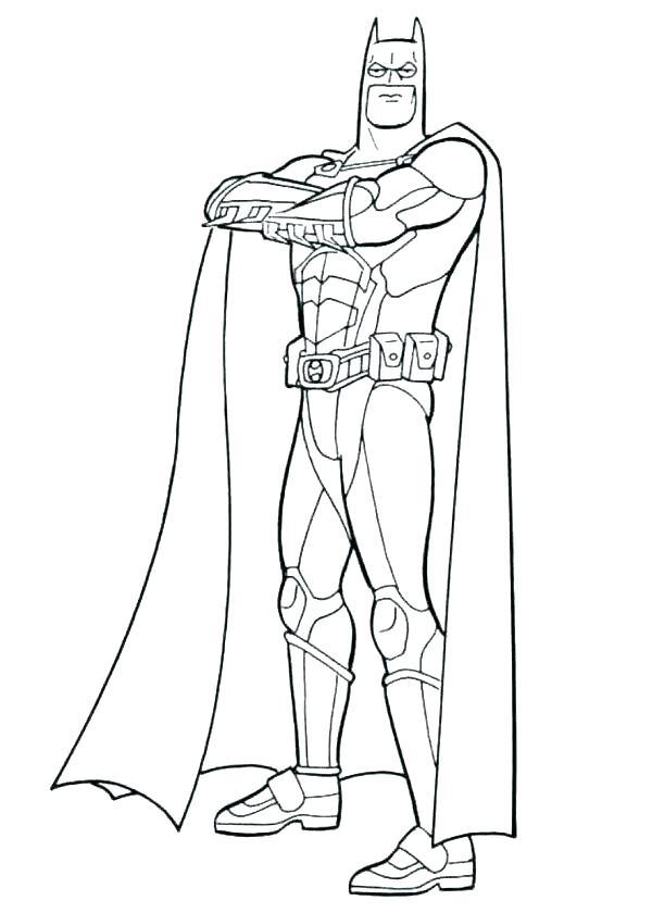 600x840 Coloring Pages For Batman Batman Coloring Pages Online Free