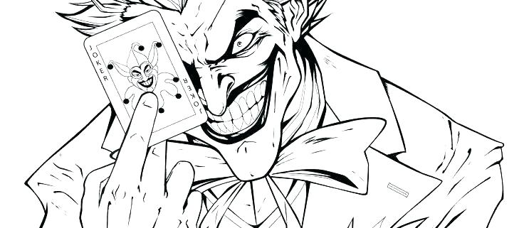 736x321 Free Joker Coloring Pages Batman And Joker Coloring Pages Pictures