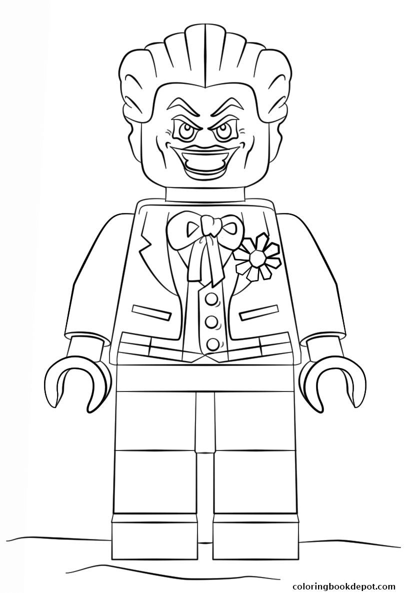 824x1186 Lego Batman Joker Coloring Pages