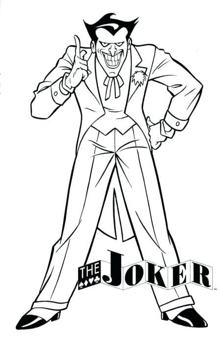 448x700 The Joker Coloring Pages Mimalist Cute Joker Coloring Pages