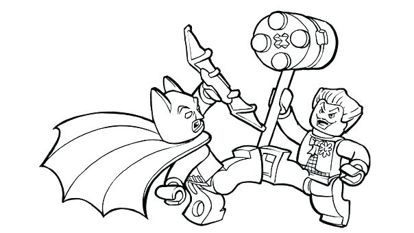 604x340 Joker Coloring Pages