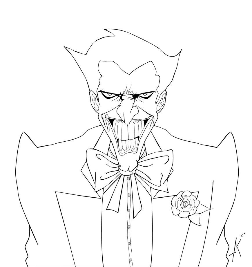 869x920 Free Printable Joker Coloring Pages Book Picture Within