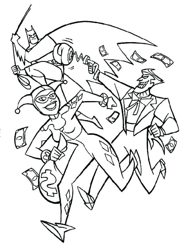 618x845 Batman And Joker Coloring Pages Batman Joker Coloring Pages Free