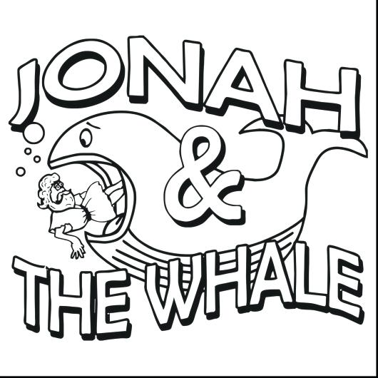 530x530 Jonah Coloring Page And The Whale Coloring Book For Kids Jonah