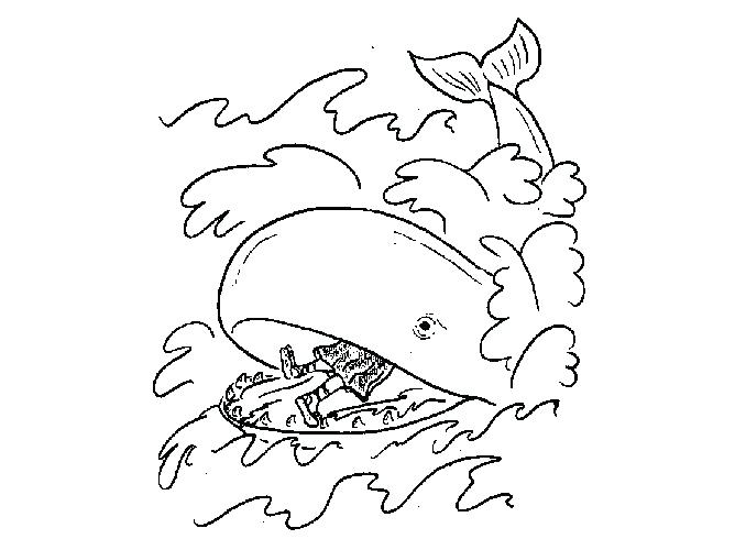 678x500 Jonah Coloring Sheet And The Whale Coloring Pages For Preschoolers