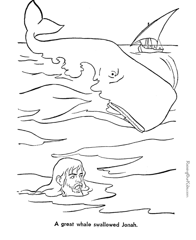 670x820 Jonah And The Whale Coloring Pages New Jonah And Whale Bible
