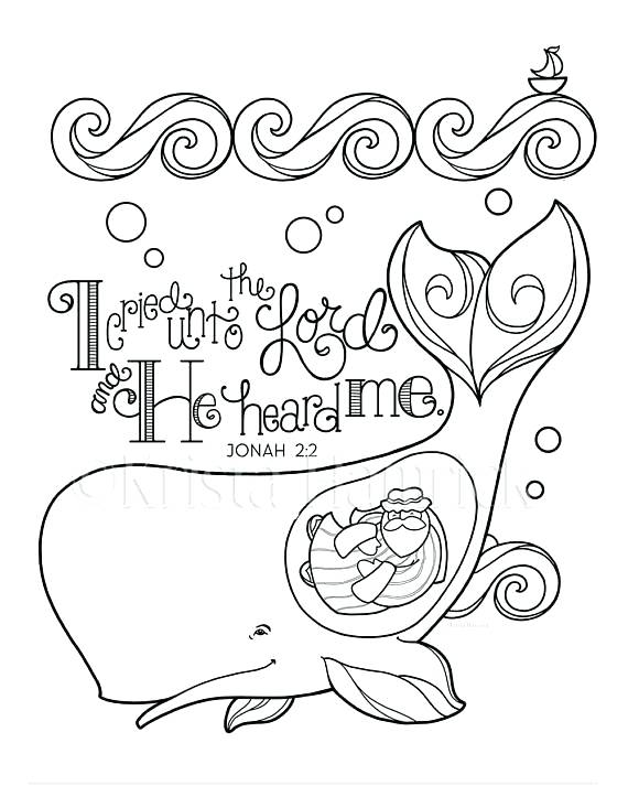 Jonah Bible Coloring Pages at GetDrawings | Free download