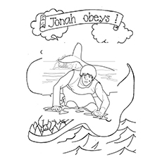 Jonah Coloring Pages Printable