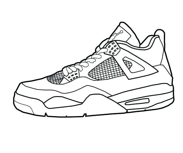 736x613 Air Jordan Coloring Pages Running Shoes Coloring Pages Enjoy