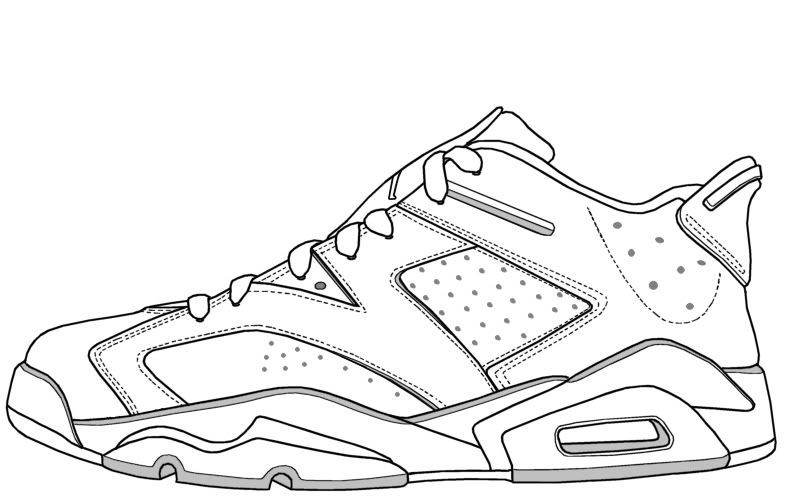 792x500 Nike Air Max Printable Coloring Pages