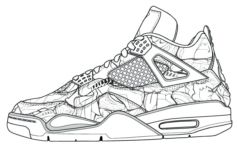 819x507 Jordan Coloring Pages Sneakers Coloring Pages Photos Coloring