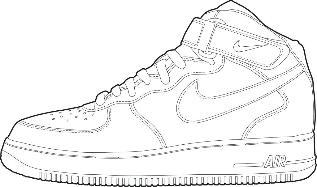 1024x605 Air Jordan Coloring Pages Shoes Coloring Pages Sneakers