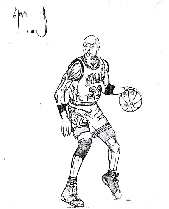 580x720 Michael Jordan Coloring Pages Educational Coloring Pages