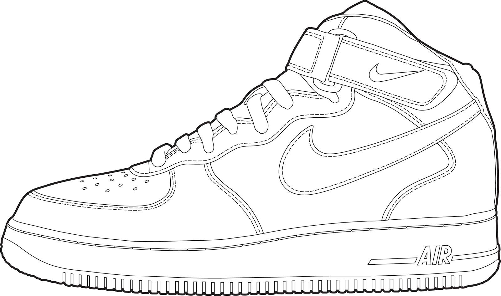 - Jordan Shoes Coloring Pages At GetDrawings Free Download