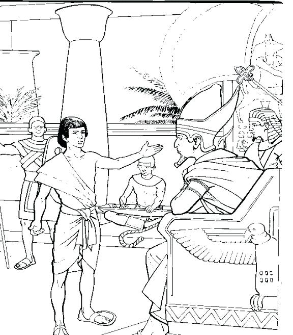 576x657 Joseph Bible Coloring Pages Bible In Coloring Page Image Free