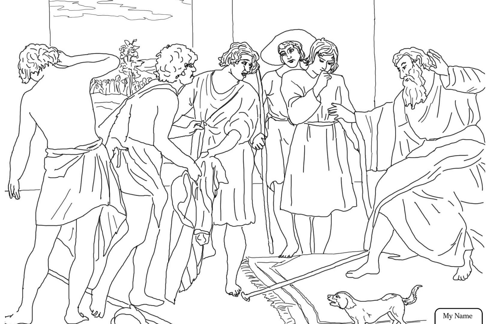 1632x1080 Joseph Colorings With And His Brothers Coloring Pages General