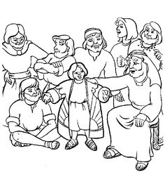 236x255 Joseph Brothers Coloring Page Kid Printables Joseph