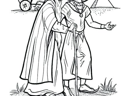 440x330 Bible Coloring Pages Coat Of Many Colors Bible Story Coloring