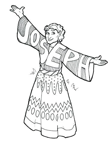 372x480 Joseph Bible Coloring Pages