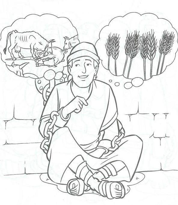 592x682 God Giving Joseph Interpretation Of Pharaoh's Dreams