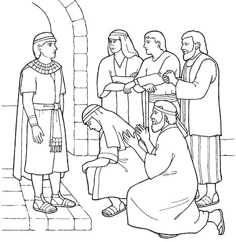 468x480 Joseph Bible Coloring Pages Bible Coloring Pages In Coloring Pages