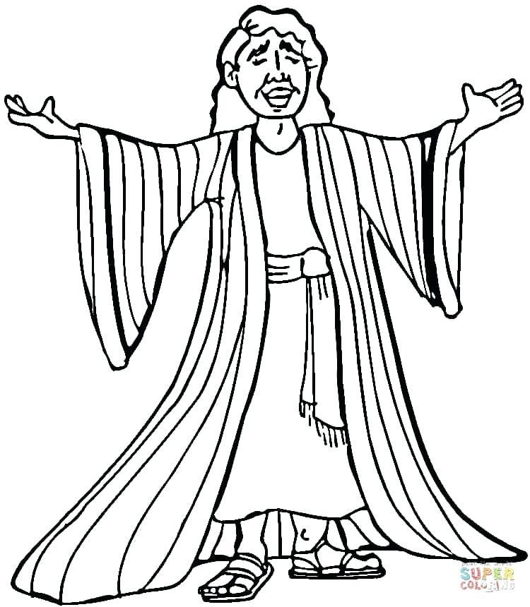 750x860 Joseph Bible Coloring Pages Coloring Pages Many Colored Coat