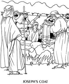 236x288 Joseph And The Coat Of Many Colors Coloring Page