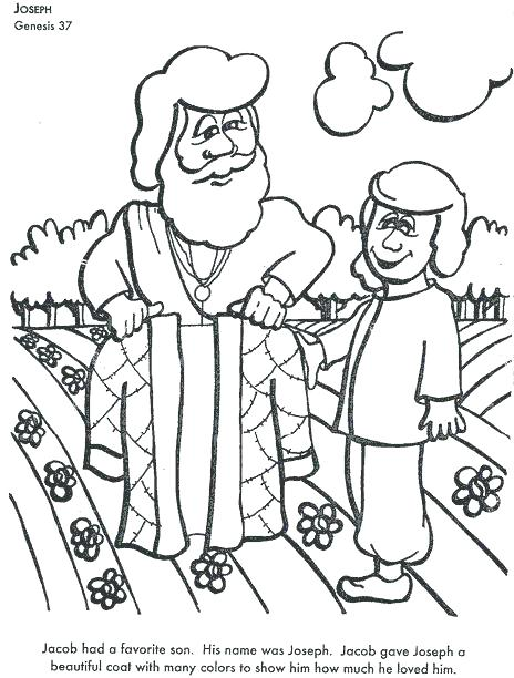 464x612 Joseph Bible Coloring Pages Coat Many Colors Coloring Page Best