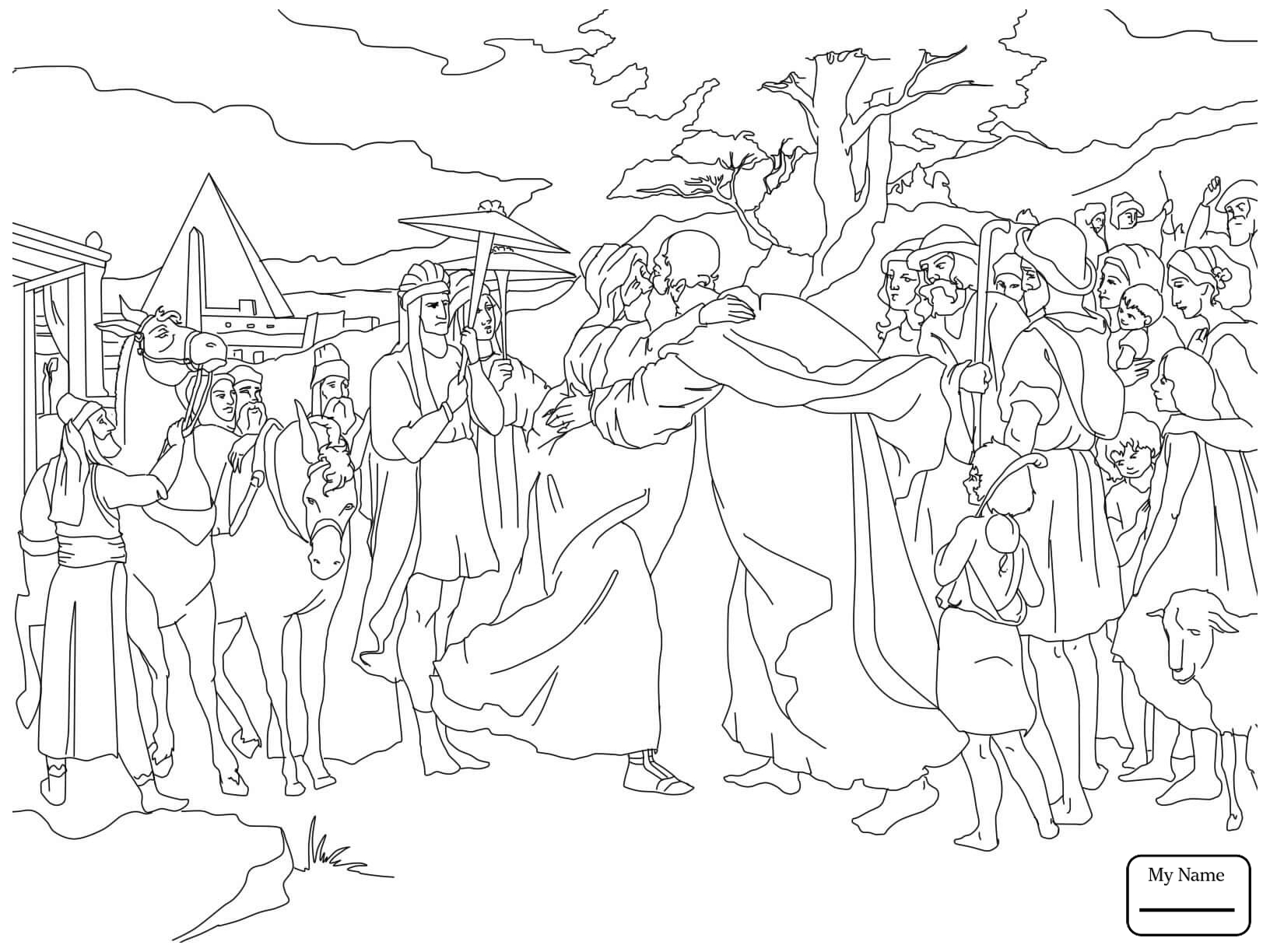 1632x1224 Joseph Coat Of Many Colors Christianity Bible Coloring Pages