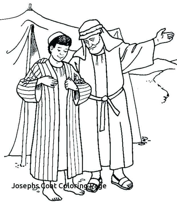 620x707 Joseph Coat Of Many Colors Coloring Page
