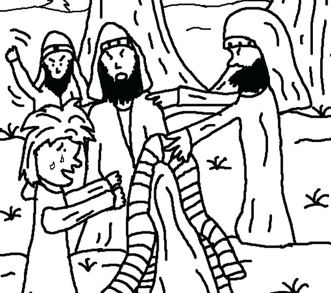 678x600 Joseph Coat Of Many Colors Coloring Page Awesome Coat Of Many
