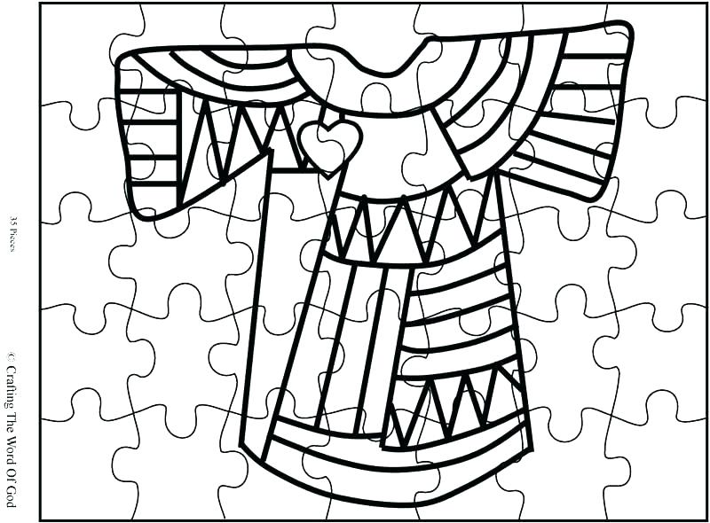 800x590 Joseph Coat Of Many Colors Coloring Page Coat Of Many Colors