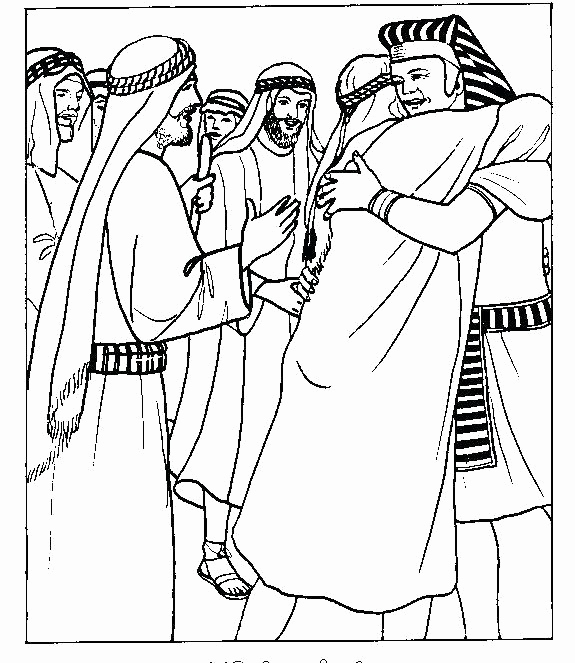 575x663 Joseph Coat Of Many Colors Coloring Page Images Joseph Coloring
