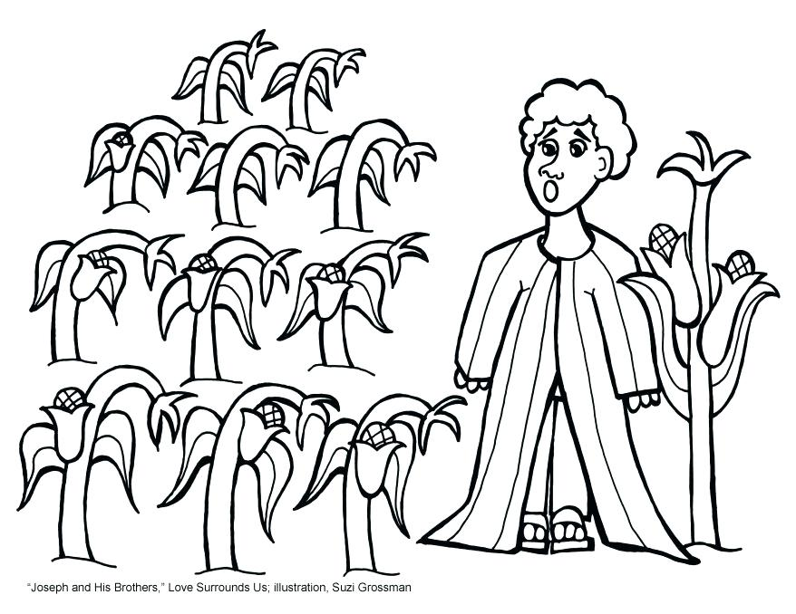 878x678 Joseph Coat Of Many Colors Coloring Page With And Coloring Sheets