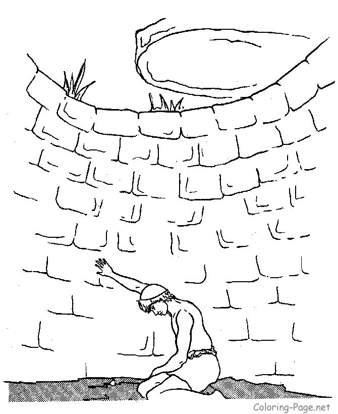 Joseph Coloring Pages Preschool