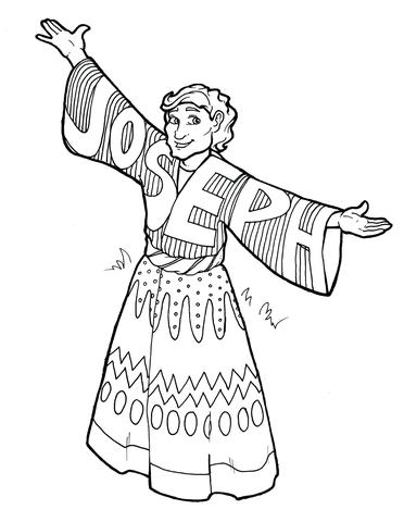 372x480 Joseph Coloring Page Children's Ministry Deals