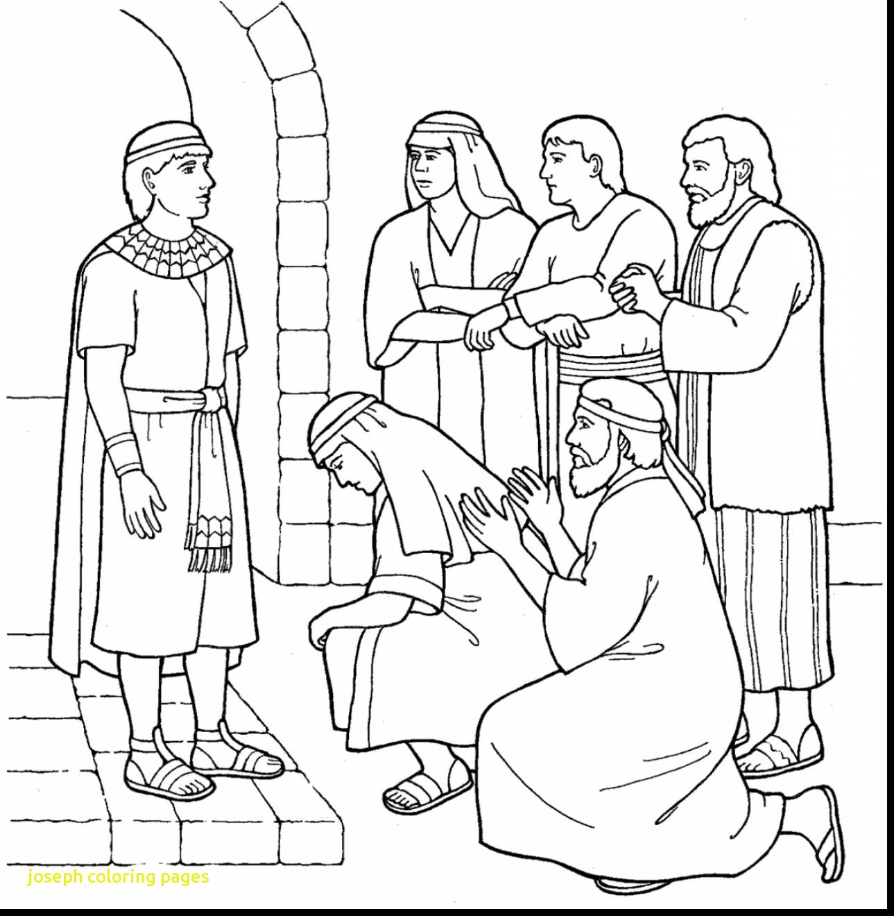 1289x1320 Joseph Coloring Pages With Joseph Bible Story Coloring Pages