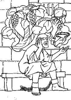 236x329 Joseph In Prison Coloring Page
