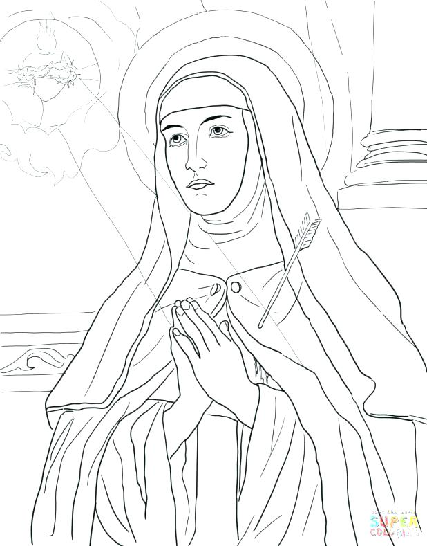 618x789 St Joseph Coloring Page Smith Coloring Pages Large Size