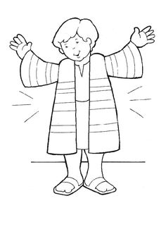 Joseph Coloring Pages Preschool at GetDrawings.com | Free for ...