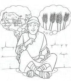 236x271 Joseph And The Coat Of Many Colors Coloring Page