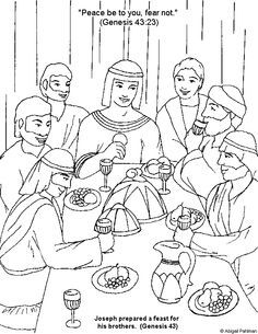 236x305 Joseph Second In Command To Pharaoh Coloring Sheets