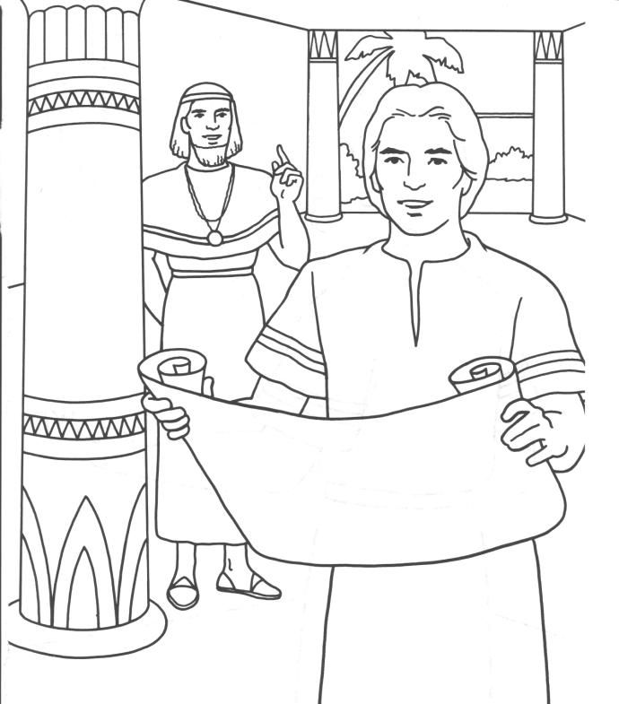 Joseph In Egypt Coloring Pages At Getdrawings Com Free For